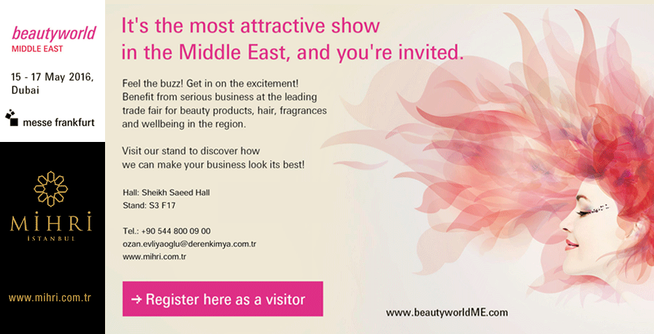 Beautyworld Middle East 15 - 17 May
